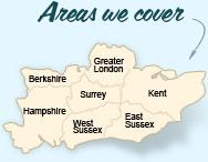 Areas We Cover: Hampshire, Kent, Surrey, Berkshire,Greater London, East Sussex