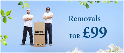 Book 2 men with a Luton van for 2h for only £99